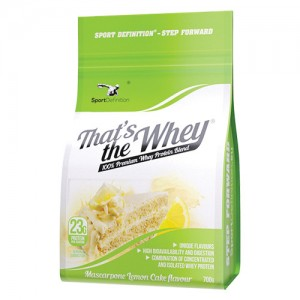 SPORT DEFINITION - THAT'S THE WHEY