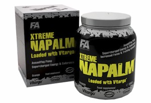 FITNESS AUTHORITY - Xtreme Napalm® loaded with Vitargo® - 1000 g